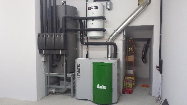 Vivienda unifamiliar nueva construcci n c rcar navarra - Instalacion calefaccion radiadores ...