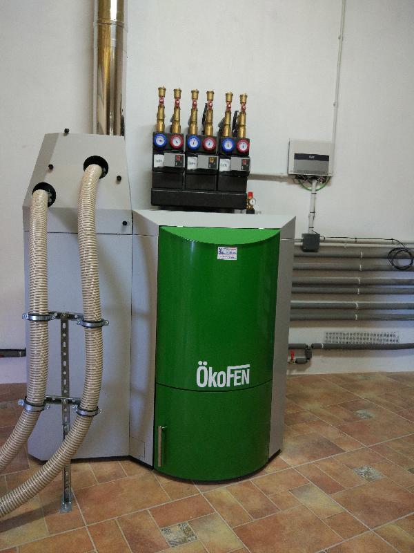 Caldera de pellets okofen en provincia de palencia for Caldera de pellets para radiadores